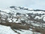 Quintana de Toranzo bajo la nieve